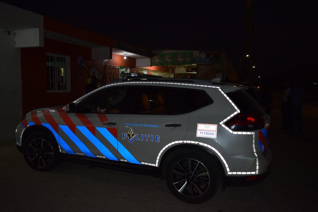 Polis involví den kaso di bringamentu na Te Amo Beach