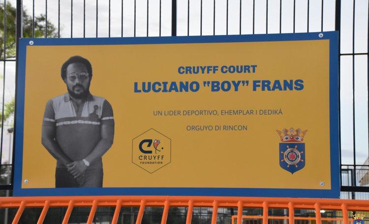 Cruyff Court Boy Frans na Rincon ta un realidat